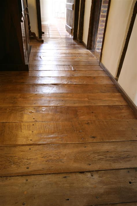 Oak wooden flooring