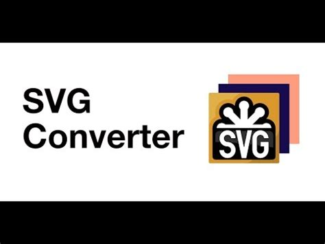 Try this free online service or download a total image converter for unlimited work! svg converter - YouTube