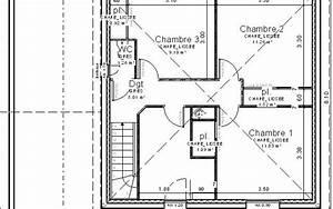 Maison avec etage sur petit terrain bessaguet construction for Plan maison petit terrain