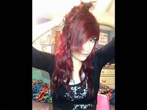 """Wavy """"Indie Scene"""" hair tutorial - YouTube"""