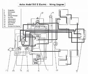 Melex 512e Wiring Diagram