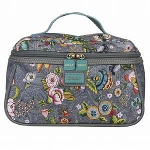 Oilily Beauty Case : oilily french flowers kosmetiktasche m beauty case in pink grey oder tobacco ebay ~ Orissabook.com Haus und Dekorationen