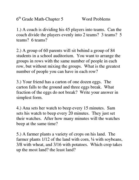math word problems for 6th graders homework writing service