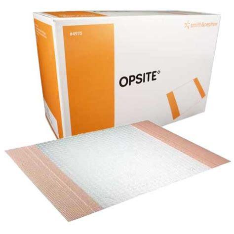Opsite Incise Drape - opsite incise drape 5 1 2 x 4 inch adhesive transparent