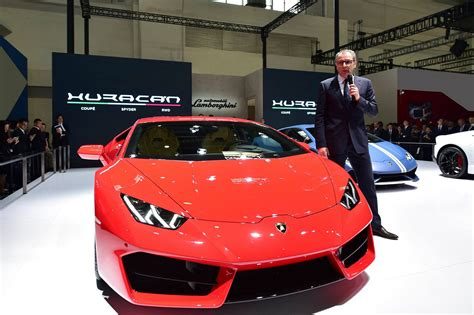 lamborghini ceo net worth stefano domenicali makes first presentation as lamborghini ceo
