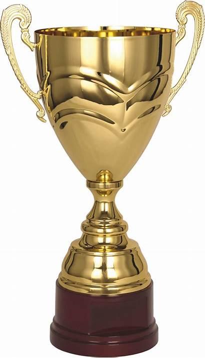 Trophy Cup Golden Clipart Transparent Gold Background