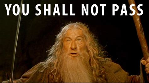 you shall not pass gandalf herr der ringe cutze käfer pictures to pin on