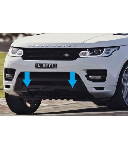 range rover sport  front tow eye cover black