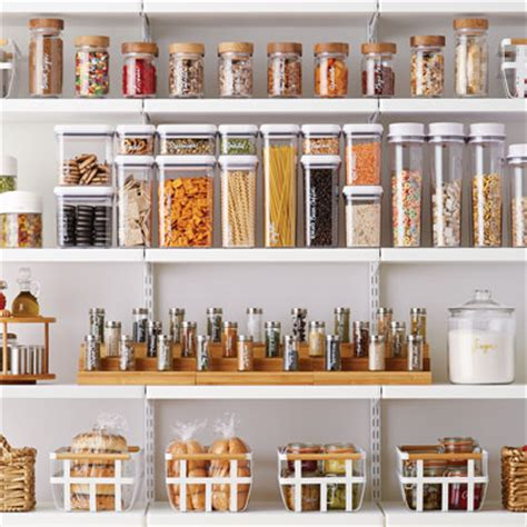 kitchen ideas organization tips  container store