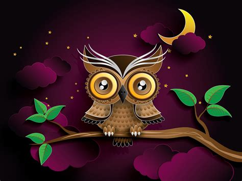 Animated Owl Wallpaper - owl animation cliparts co