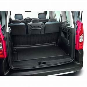 Bac de coffre articule caoutchouc citroen berlingo for Tapis de sol berlingo