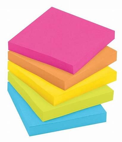 Clipart Notes Note Its Clip Sticky Assorted