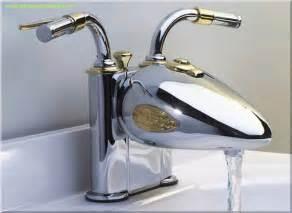 strange quot harley davidson quot bathroom faucet