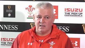Warren Gatlan Full Pre-Match Press Conference - Wales v ...