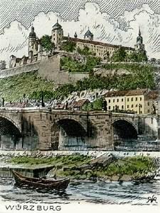 Vier Jahreszeiten Würzburg : w rzburg radierungen von peters mit w rzburg festung marienberg als titel radierungen radierung ~ Buech-reservation.com Haus und Dekorationen