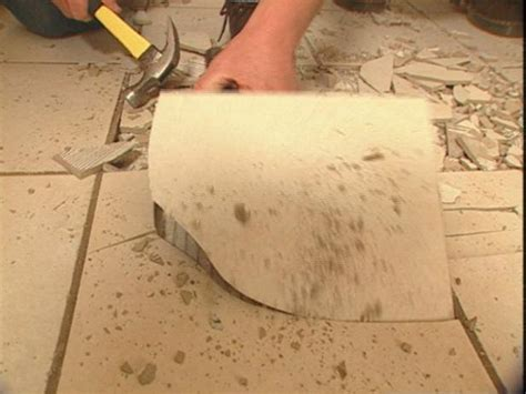 innovative remove tile floor from concrete how to remove