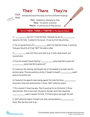 4th Grade Spelling Worksheets & Free Printables Educationcom