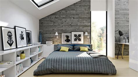 Modern Loft Bedroom Design Ideas by Homes That Use A Concrete Finish To Achieve Beautiful Results