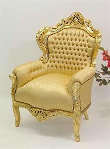 Barock Stil Möbel : sessel stuhl armlehnsessel massivholz antik barock stil 1095 m bel sitzm bel sofas und sessel ~ Markanthonyermac.com Haus und Dekorationen