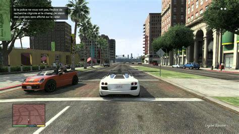 grand theft auto v course poursuite avec la extrait de gameplay jeux vid 233 o par