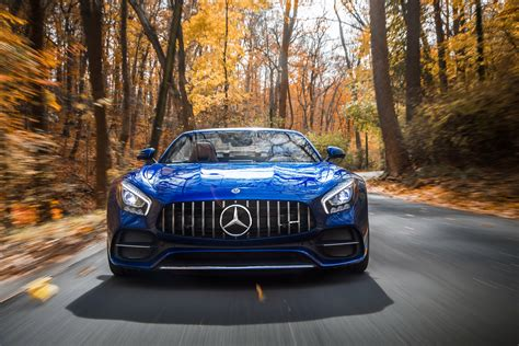 wallpaper mercedes amg gt  roadster sports car