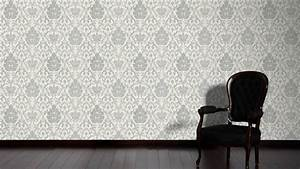 Tapete Ornamente Grau : tapete vinyl barock ornamente grau glitzer as 3390 10 ~ Buech-reservation.com Haus und Dekorationen