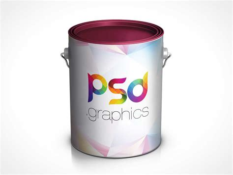 Object mockups, apparel mockups, free 20l matte paint bucket mockup bucket & pail mockups, contains special layers and smart objects for. Paint Bucket Can PSD Mockup - PSD Mockups