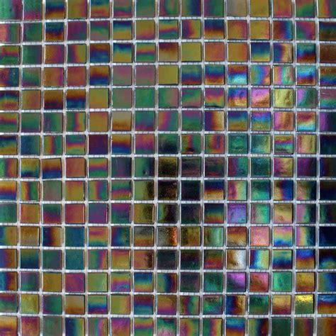 Badezimmer Fliesen Petrol by Mosaic Wall Tile 12 X 12 Sheets Petrol Black Tiles