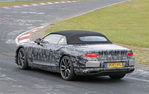 2019 Bentley Continental Gtc Almost Ready To Take On