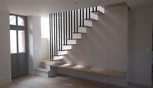Aménagement Sous Escalier : am nagement meubles canto ~ Preciouscoupons.com Idées de Décoration