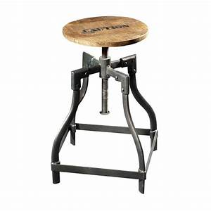 Tabouret De Bar Industriel Pas Cher : tabouret de bar style industriel pas cher table et meuble maison ~ Teatrodelosmanantiales.com Idées de Décoration