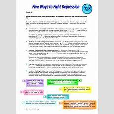 7 Free Esl Depression Worksheets