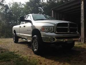 Buy Used 2003 Dodge Ram 3500 Manual 6 Speed 4x4 Silver B U0026w