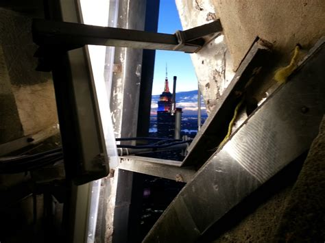 Climbing To Top Of Chrysler Building Spire Opieradio