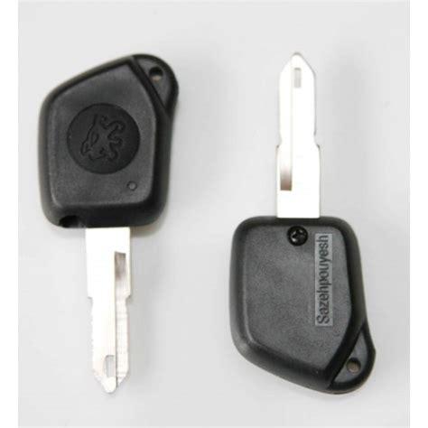 peugeot        button remote key fob case