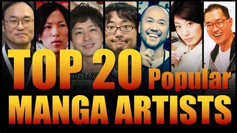 Top 20 Popular Manga Artist Youtube