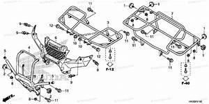 Honda Atv 2016 Oem Parts Diagram For Carrier