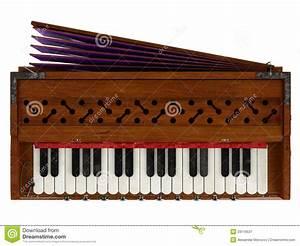 Harmonium stock illustration. Image of keyboard, clipping ...