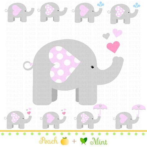 printable elephants  corsage  baby shower