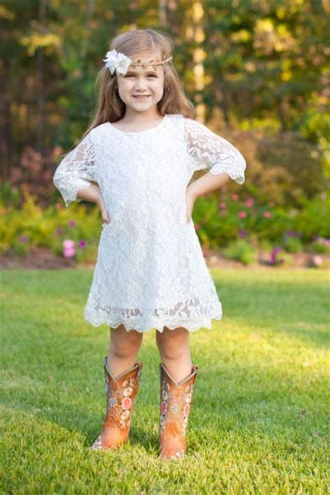 22 Flower Girl Outfits For Country Weddings - Weddingomania