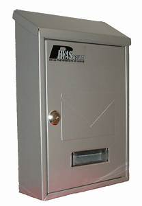 Secure steel letter box waterproof office home mail ebay for Secure mail letter boxes