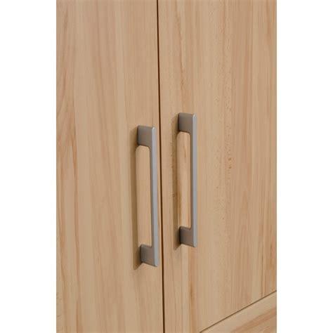 armoire 2 portes quot jordan quot bois clair