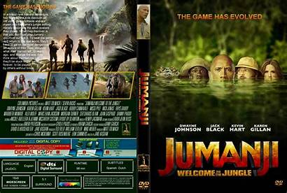 Jumanji Jungle Welcome Dvd Covers Ift Demand