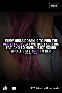 Every Girls Dream Quotes. QuotesGram