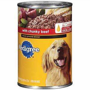 pedigree meaty ground dinner with chunky beef wet dog food With costco pedigree dog food price