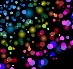 Abstract Background with Blurred Defocused Lights Vector ...
