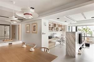 Deco Bois Et Blanc : contraste des couleurs pour une jolie d co maison ~ Melissatoandfro.com Idées de Décoration