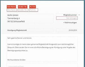 Kündigung Wohnung Schreiben : fitnessstudio k ndigung vorlage download chip ~ Orissabook.com Haus und Dekorationen