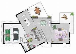 maison a ossature bois 2 detail du plan de maison a With maison bois et pierre 5 chandolas maison ossature bois charpente traditionnelle