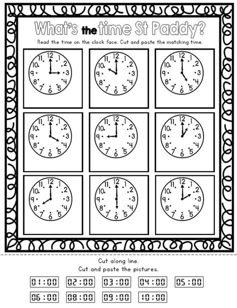Free printable math worksheets for teachers and parents to give students extra practice with basic math facts, teach counting, addition, subtraction, multiplication and division. St Patrick's Day Kindergarten Math Activities Pack (Print and Go) | Kindergarten math activities ...